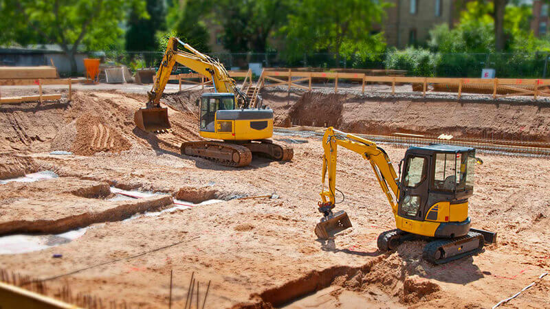 Atlanta land preparation grading service