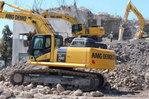 Atlanta land grading and demolition for residential and commercial job