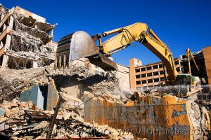 PROFESSIONAL DEMOLITION - SAFETY COMES FIRST!